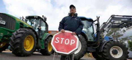 Έντονες διαμαρτυρίες από τους Γάλλους αγρότες για την κατάρρευση των τιμών