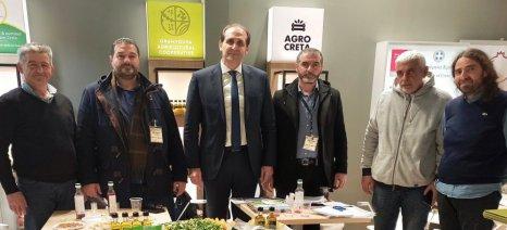 Η Κρήτη στη διεθνή έκθεση νωπών φρούτων και λαχανικών Fruit Logistica