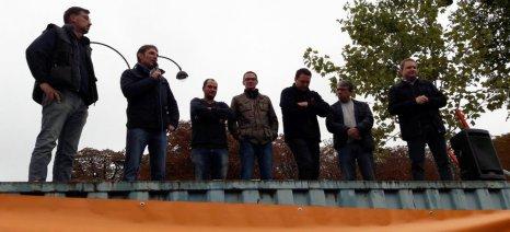 Το ποτήρι ξεχείλισε για τους Γάλλους αγρότες, που διαμαρτυρήθηκαν στα Ηλύσια Πεδία για την απαγόρευση του glyphosate