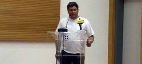 Στα προβλήματα από τα σχέδια διαχείρισης υδάτων του δήμου Χαλκιδέων αναφέρθηκε ο Καρύδης