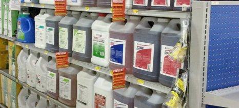 Νέες διευκρινίσεις του ΥΠΑΑΤ για τη συνταγογράφηση των γεωργικών φαρμάκων