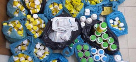 Κύκλωμα λαθρεμπορίου γεωργικών φαρμάκων εντοπίστηκε σε χωριό της Χαλκιδικής