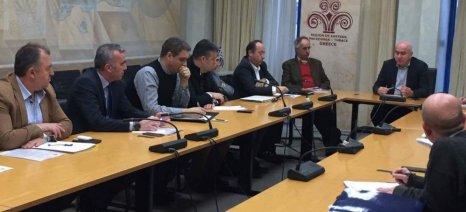 Στον περιφερειάρχη, Χρήστο Μέτιο, κατέθεσε τις προτάσεις του για τον πρωτογενή τομέα το ΓΕΩΤΕΕ Ανατολικής Μακεδονίας
