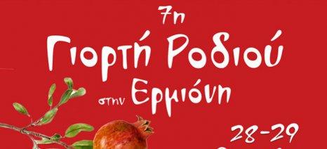 Γιορτή Ροδιού στην Ερμιόνη στις 28-29 Οκτωβρίου