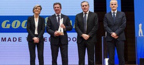 """H Goodyear βραβεύτηκε ως """"Προμηθευτής αμαξώματος της χρονιάς"""" από την Fiat Chrysler"""