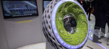 Oxygene, ένα concept ελαστικό από την Goodyear σχεδιασμένο να υποστηρίζει την κίνηση στην πόλη