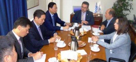 Έντονο ενδιαφέρον από την επαρχία Henan της Κίνας για συνεργασία στον αγροδιατροφικό τομέα