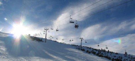 Ανοιχτά τα χιονοδρομικά της Βορείου Ελλάδος
