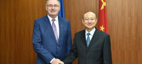 Με τον Κινέζο υπουργό Γεωργίας συναντιέται αύριο ο Φιλ Χόγκαν