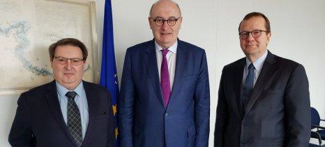 Χόγκαν και Πεσόνεν συναντώνται για το νέο κανονισμό που θα ισχυροποιεί τη θέση των παραγωγών στην εφοδιαστική αλυσίδα