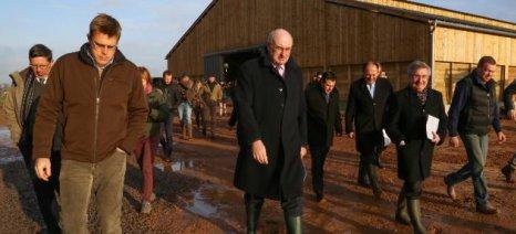 Επίσκεψη του Φιλ Χόγκαν σε φάρμες του Βελγίου (φωτορεπορτάζ)