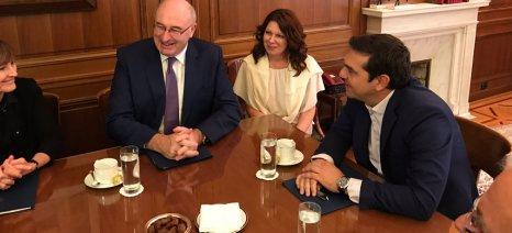 Ολόκληρο το διήμερο του Επιτρόπου Γεωργίας, Φιλ Χόγκαν στην Αθήνα, σε φωτογραφίες