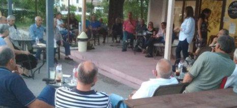 Επίσκεψη Παπανάτσιου στη Σούρπη Μαγνησίας