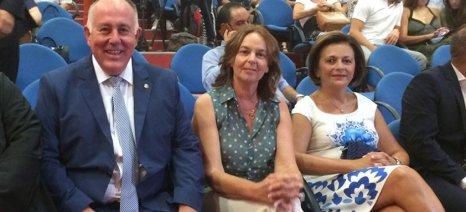 Στις ορκωμοσίες των νέων δημοτικών αρχών Νοτίου Πηλίου και Ρήγα Φεραίου παραβρέθηκε η Κατερίνα Παπανάτσιου