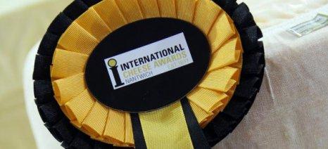"""Ένα χρυσό και δύο χάλκινα ήταν η """"συγκομιδή"""" των βραβείων για τα ελληνικά τυριά στα International Cheese Awards"""