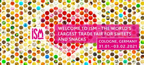 Η Ελλάδα στο ΤΟΠ 10 της ISM 2021, της κορυφαίας διεθνούς έκθεσης ζαχαρωδών και σνακ της Κολωνίας