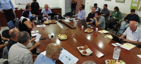 Μεταφορά τεχνογνωσίας για τα απόβλητα ελαιουργείων στο Ισραήλ