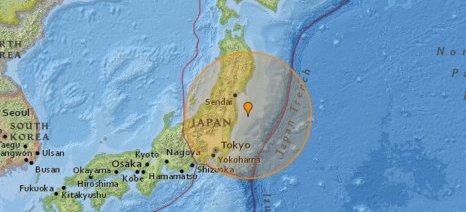 Σεισμός 6,2 Ρίχτερ στην Ιαπωνία