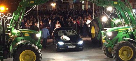 Ένας γάμος πολύ... πράσινος