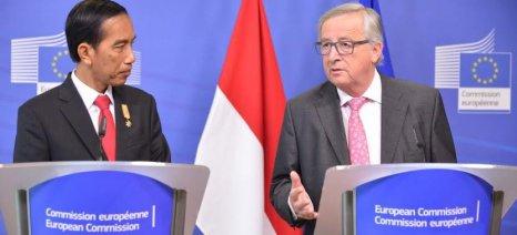 Ξεκινούν διαπραγματεύσεις μεταξύ Ευρωπαϊκής Ένωσης και Ινδονησίας για Συμφωνία Ελεύθερων Συναλλαγών