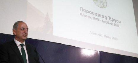 Στον απολογισμό του έργου του προχώρησε ο Κύπριος υπουργός Γεωργίας, Κ. Καδής