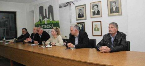 Ενημερωτική ημερίδα του ΣΥΡΙΖΑ στον αγροτικό συνεταιρισμό Καλαμπάκας για τις εξελίξεις στον αγροτικό χώρο