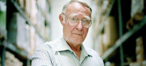 Πέθανε στην ηλικία των 91 ετών ο ιδρυτής των ΙΚΕΑ