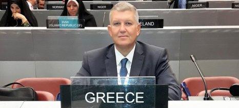 """Καραγιάννης: """"Σταθερά προσηλωμένη η Ελλάδα στους στόχους βιώσιμης ανάπτυξης του ΟΗΕ"""""""