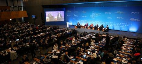 Στο Φόρουμ του Παγκόσμιου Οργανισμού Εμπορίου συμμετείχε βουλευτής του ΣΥΡΙΖΑ Γιάννης Καραγιάννης