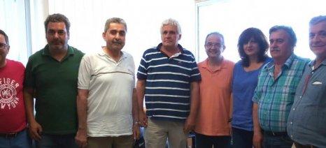 Τέσσερις από τους μεγαλύτερους συνεταιρισμούς της Ημαθίας επισκέφθηκαν Καρασαρλίδου-Χαμπίδης