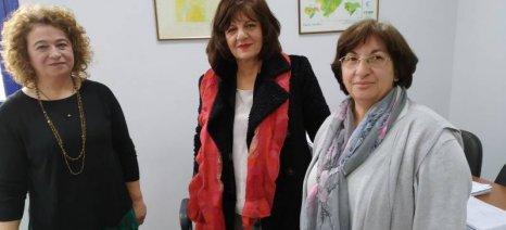 Επίσκεψη Καρασαρλίδου στον ΕΛΓΑ Βέροιας: Διπλάσιες οι δηλώσεις ζημιάς το 2019 σε σχέση με το 2018