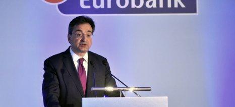 Μειώθηκαν τα συνολικά NPEs στο χαρτοφυλάκιο της Eurobank κατά 2,8 δισ. ευρώ το εννεάμηνο