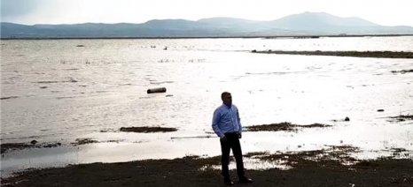 Νέα έργα στη λίμνη Κάρλα από την Περιφέρεια Θεσσαλίας