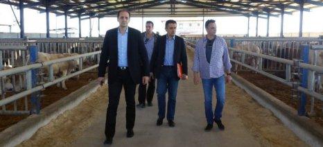 Περιοδεία Κασαπίδη στην Ημαθία, όπου παρουσίασε τις προτεραιότητες της ΝΔ για τη γεωργική ανάπτυξη