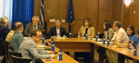 Στενότερη συνεργασία μεταξύ ΥΠΑΑΤ και Διεθνούς Οργανισμού Αμπέλου και Οίνου