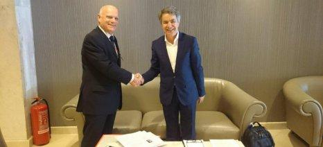 Συνέχεια στις ελληνοϊσραηλινές επαφές για τη σύσφιξη των σχέσεων των δύο χωρών στον αγροτικό τομέα