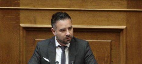 Ερώτηση Κατσιαντώνη για τις καταστροφές από το χαλάζι σε Τύρναβο και Φάρσαλα