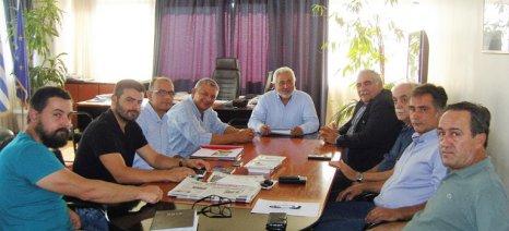 Σύσκεψη για το πρόβλημα με το καθεστώς ιδιοκτησίας των καστανεώνων στη Λάρισα