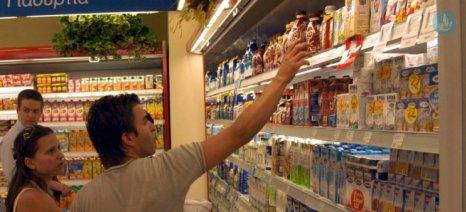 Αύξηση της απασχόλησης κατά 1,4% στο λιανεμπόριο τροφίμων το 2018