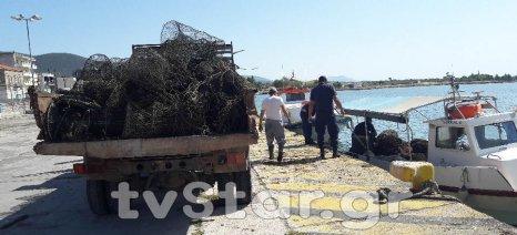 Μεγάλη επιχείρηση κατά της παράνομης αλιείας στην περιοχή Natura του Δέλτα Σπερχειού - κατάσχεση 350 κλωβών