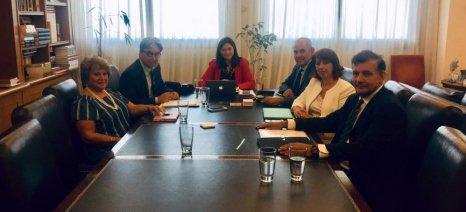 Με το προεδρείο της Συνόδου των Πρυτάνεων συναντήθηκε η υπουργός Παιδείας
