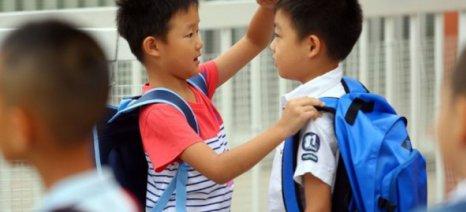 Δύο παιδάκια ποδοπατήθηκαν μέχρι θανάτου σε σχολείο στην Κίνα