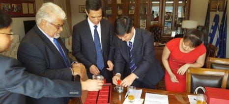 Κινέζοι προωθούν το τσάι τους στην περιφερειακή ενότητα Αργολίδας