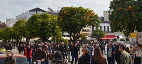 Αγροτική διαμαρτυρία και πορεία στη Σπάρτη πραγματοποιήθηκε τη Δευτέρα