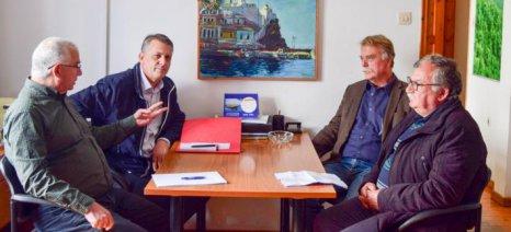 Στελέχη του ΚΚΕ συζήτησαν με τον Α.Σ. Σκοπέλου τα προβλήματα που προκύπτουν από την ΚΑΠ