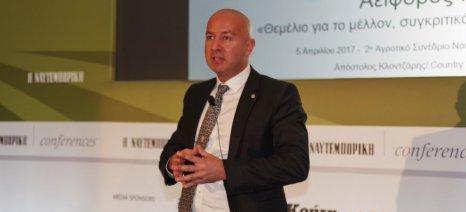 Για τη συνεργασία της Bayer με όλους τους κρίκους της αλυσίδας παραγωγής και εμπορίας τροφίμων μίλησε ο Κλοντζάρης