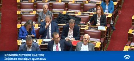 Σφυροκόπημα από τους βουλευτές του ΣΥΡΙΖΑ κατά του χθεσινού απολογισμού Βορίδη