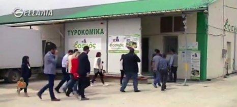 """Με διαβεβαιώσεις για την υποχρεωτική αναγραφή προέλευσης του γάλακτος επισκέφθηκε τον Συνεταιρισμό """"Βοσκός"""" ο Κόκκαλης"""
