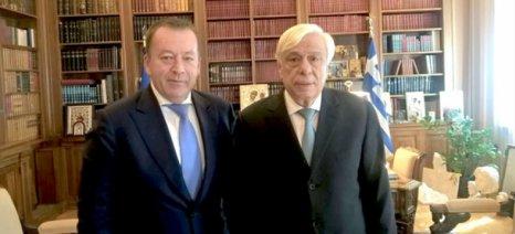 Με τον Πρόεδρο της Δημοκρατίας συναντήθηκε ο Κόκκαλης