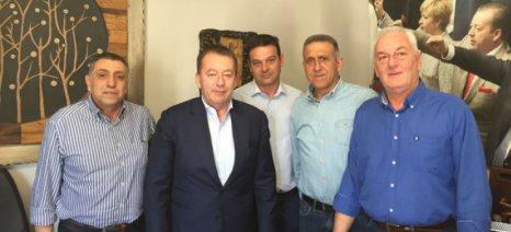 Με τον Κόκκαλη συναντήθηκαν τα μέλη του Συνδέσμου Εισαγωγέων Μεταχειρισμένων Γεωργικών Ελκυστήρων